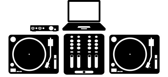 dj digital vinyl setup