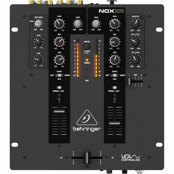 dj mixer behringer nox101