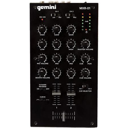 dj mixer gemini mxr-01