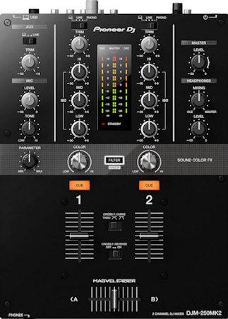 best dj mixer for beginners pioneer djm-250mk2